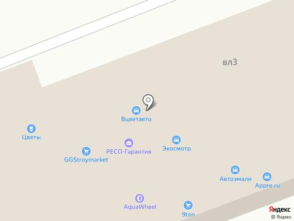 Союз Грузовиков на карте Балашихи