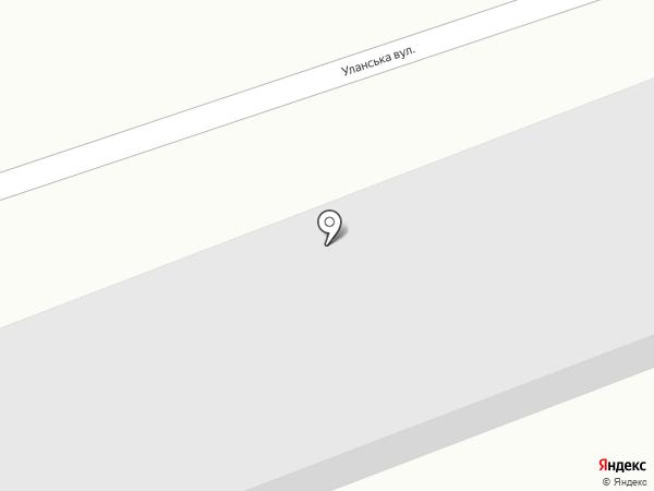 Аква на карте Макеевки