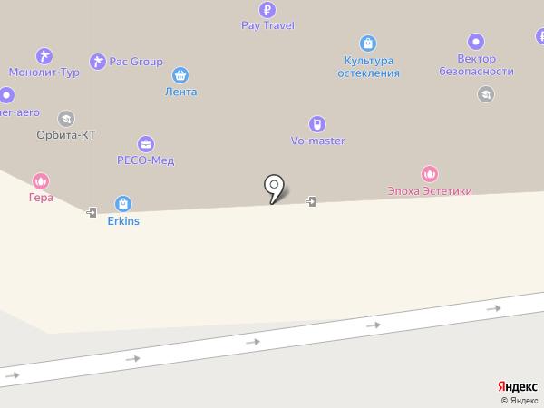Ник-Строй на карте Королёва