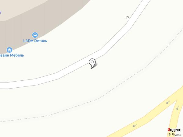 Авиаагрегат на карте Дзержинского