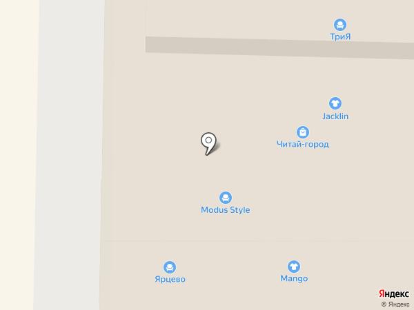 Modus style на карте Реутова