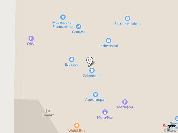 Аристократ на карте Реутова