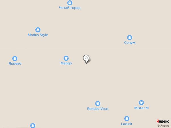 Divanger на карте Реутова