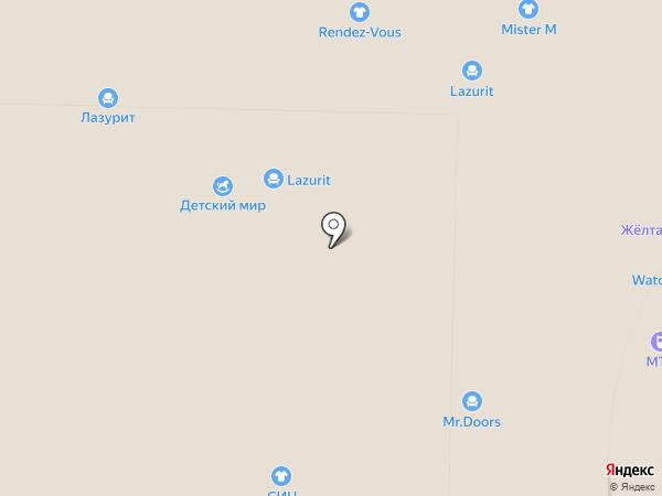 Детский Мир на карте Реутова
