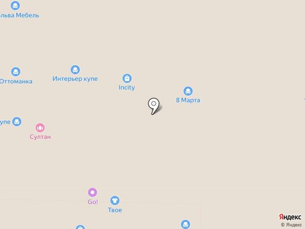 Точка Красоты на карте Реутова
