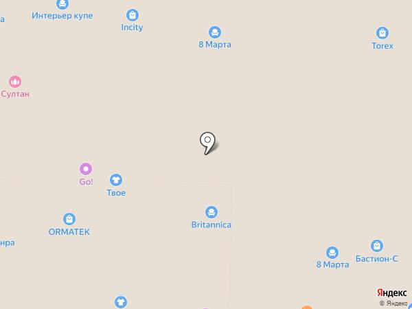 Магазин табачных изделий на карте Реутова