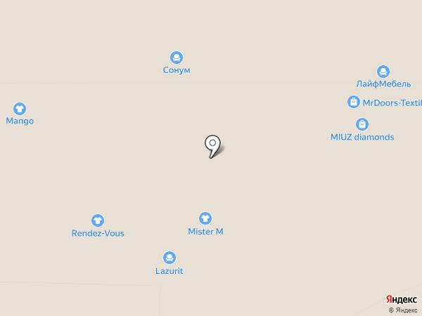 Mister M на карте Реутова