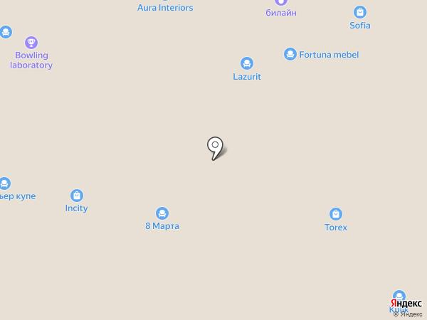 Ego на карте Реутова