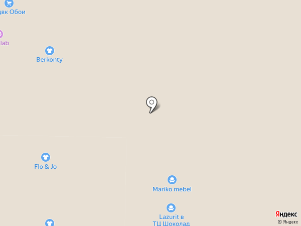 Фортуна на карте Реутова