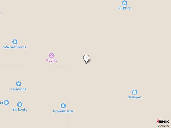 Плитка SDVK на карте Реутова