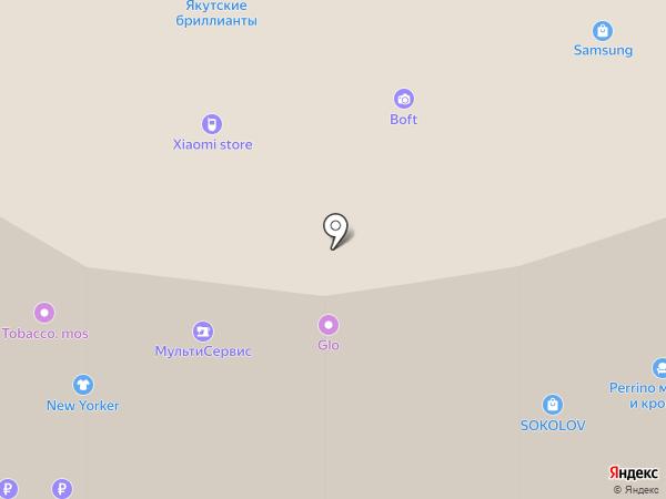 Светоч на карте Реутова