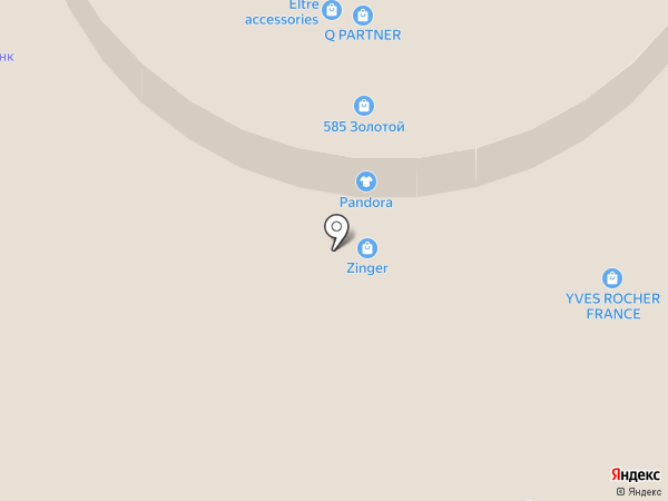 Магазин сувениров на карте Реутова