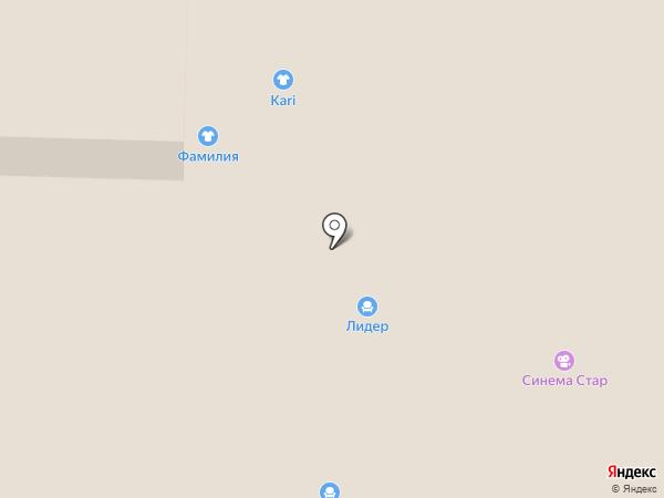 Anderssen на карте Реутова