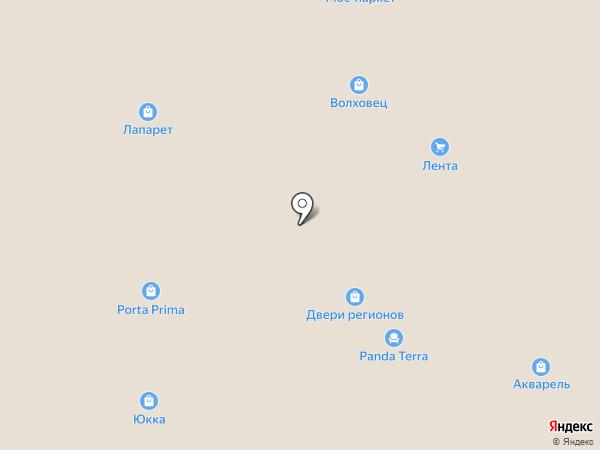ЮККА на карте Реутова