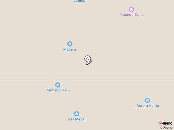 Эталон на карте Реутова