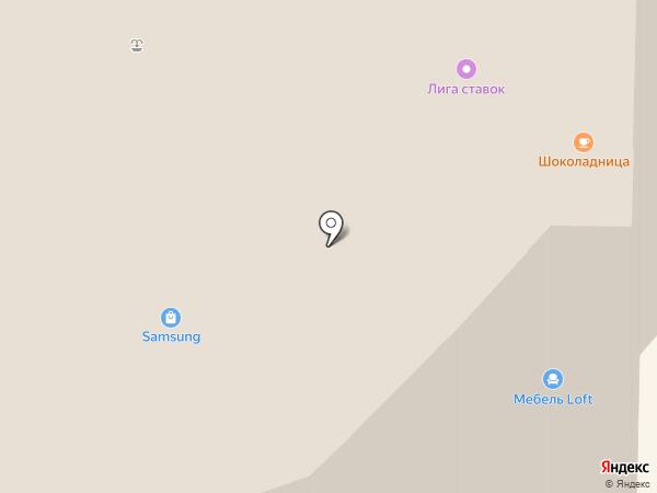Комfорт на карте Реутова
