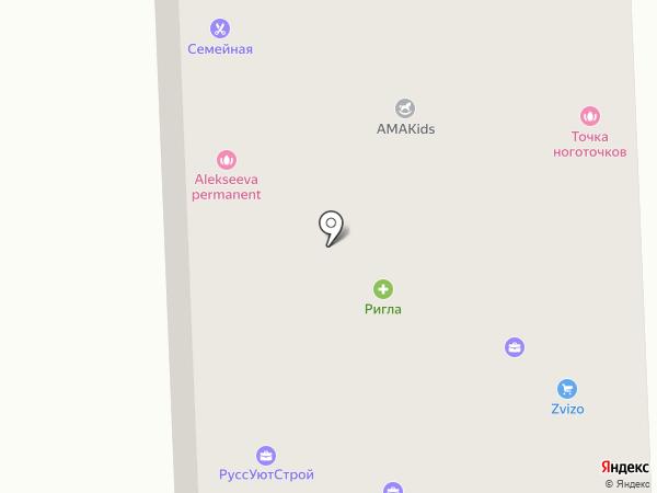 Маяк на карте Юбилейного
