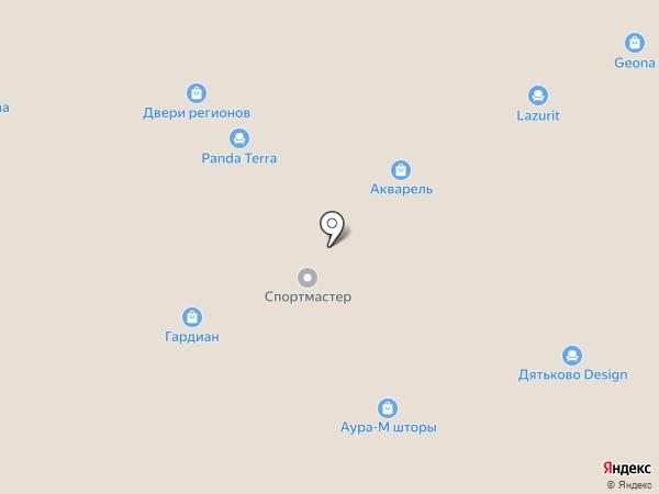 Бастион-С на карте Реутова