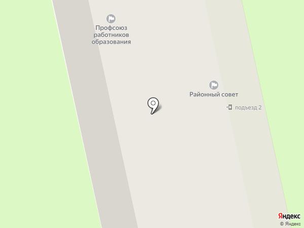Пушкинский союз садоводов на карте Пушкино