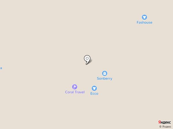 Coral Travel на карте Реутова