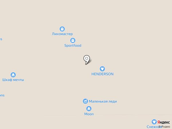 Henderson на карте Реутова