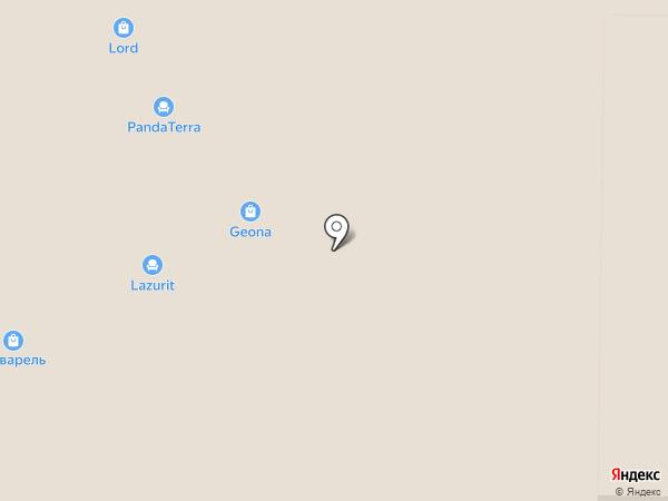 Навигатор на карте Реутова