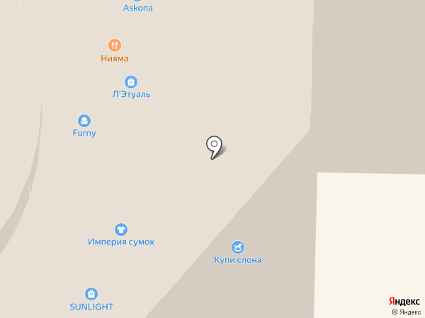 SUNLIGHT на карте Реутова