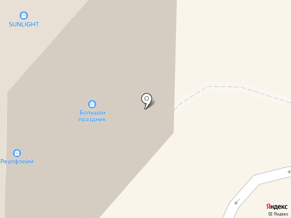 Сладсон на карте Реутова