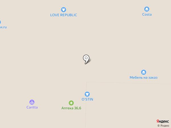 Престиж на карте Реутова