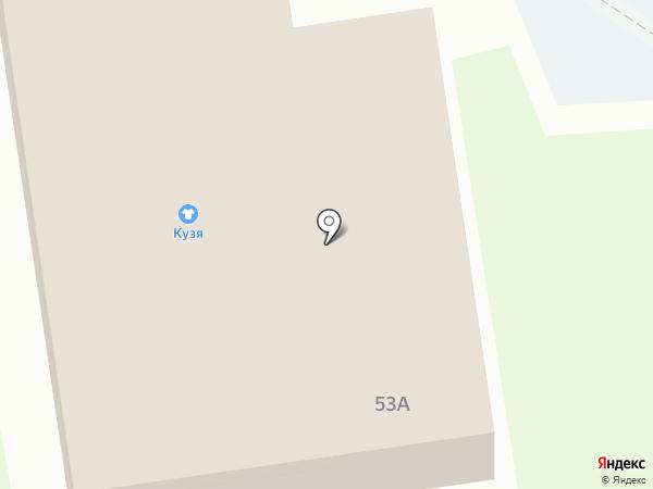 Производственная компания на карте Старого Оскола