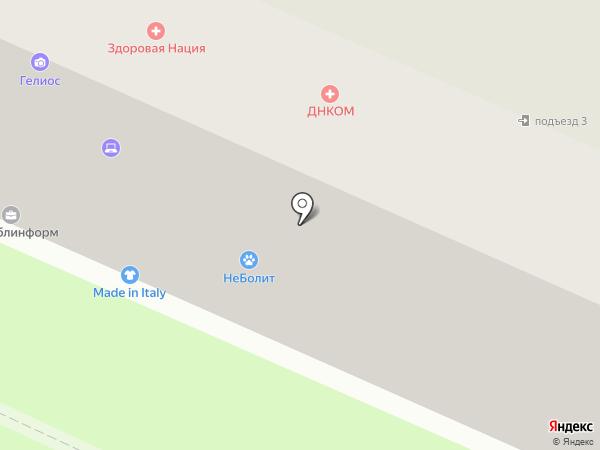 Лель на карте Пушкино