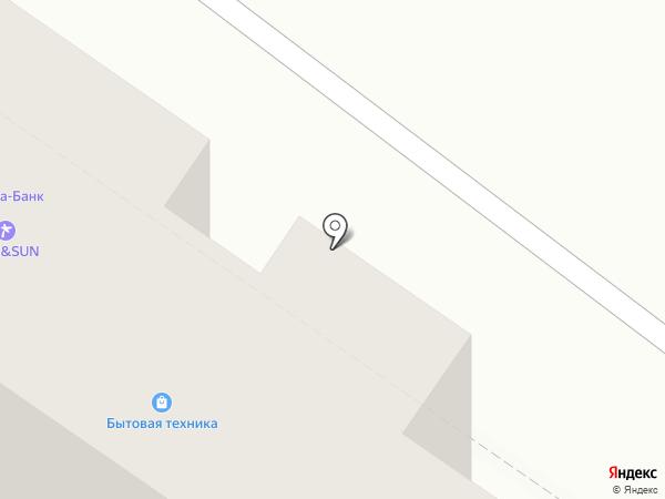 МСК Мебель на карте Москвы