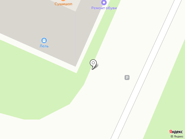Избушка-Разливушка на карте Пушкино