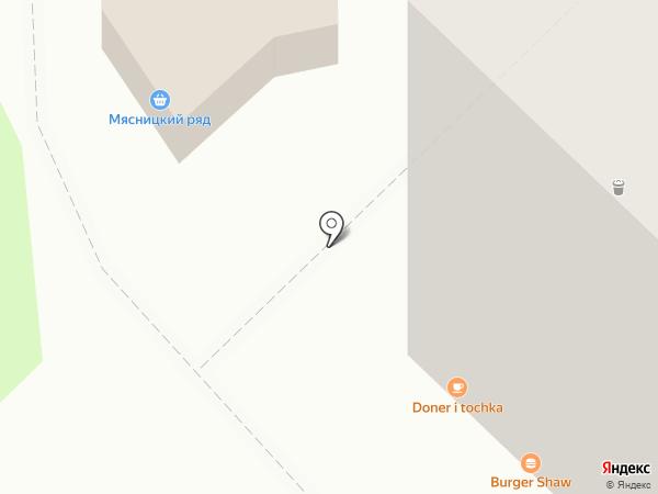 Продуктовый магазин на карте Реутова