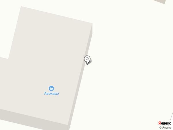 Продуктовый магазин на карте Пушкино