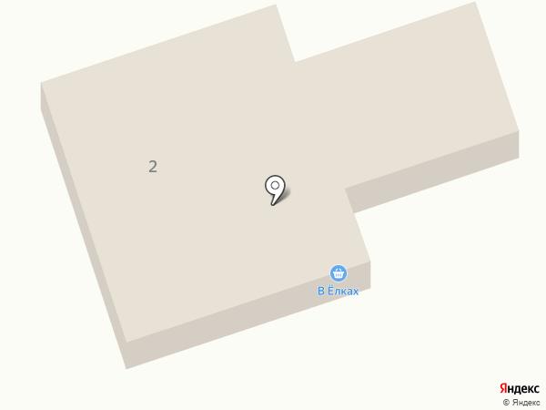 В ёлочках на карте Ясиноватой