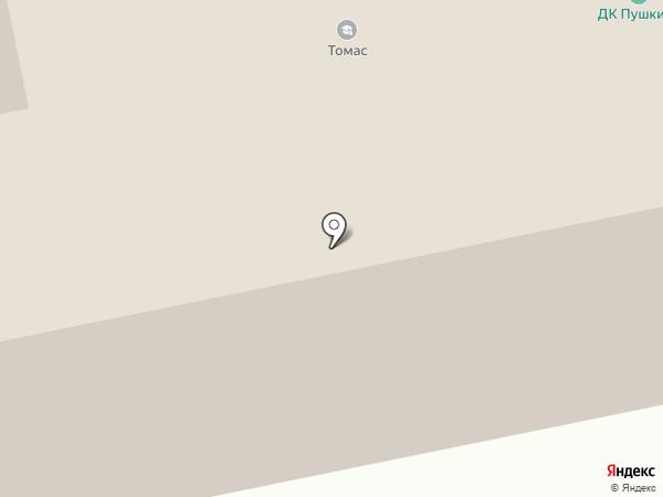 Пушкино на карте Пушкино