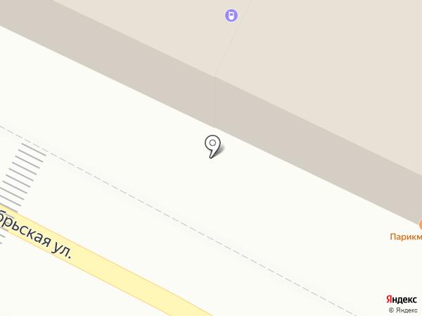 Магазин одежды и обуви на карте Пушкино