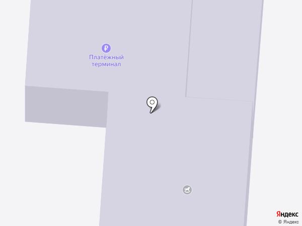 Детский сад №1, Журавушка на карте Юбилейного