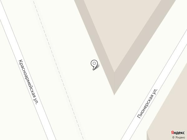 Смирнов на карте Пушкино
