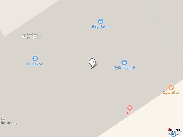 БашМаг на карте Дзержинского