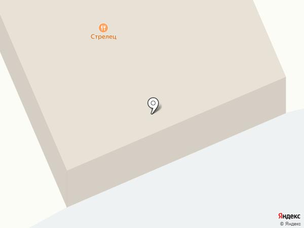Стрелец на карте Пушкино