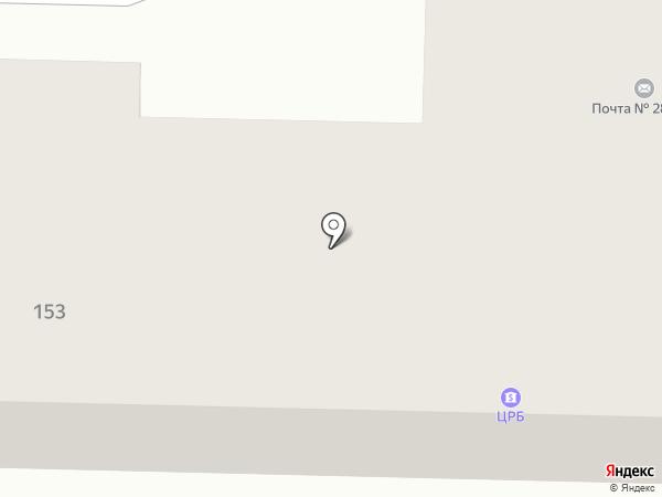 Отделение связи №21 на карте Макеевки