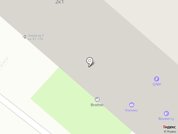 Близнецы на карте Москвы