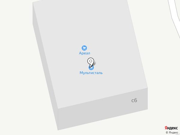 Ареал на карте Котельников