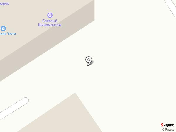 Ожиком на карте Дзержинского