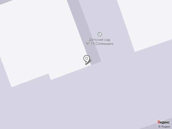 Детский сад №15, Солнышко на карте Реутова