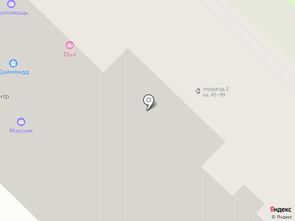 Победа, ТСН на карте Реутова
