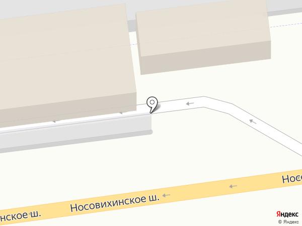 АЗС Татнефть на карте Реутова