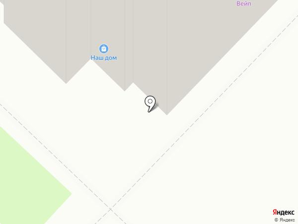 Магазин фастфудной продукции на карте Реутова